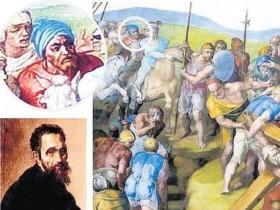 Замечен незнакомый автопортрет Микеланджело (ФОТО)