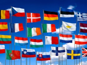 флаги,европа