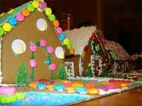разукрашенный дом