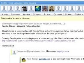 «Гугл» Wave