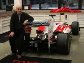 Стефанович посетил основу Тойота F1