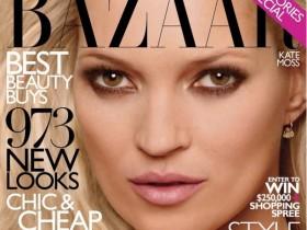 Кейт Мосс в новой фотосессии для Harper'с Bazaar (ФОТО)