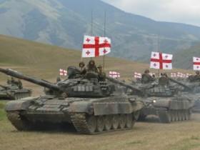 грузия,бронетанки