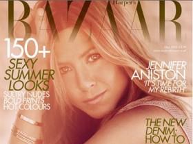 Дженнифер Энистон в солнечной фотосессии для Harper'с Bazaar