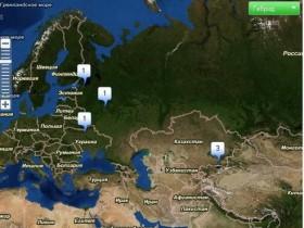 Vkontakte применяют карты Yandex'а