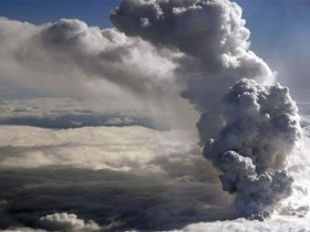 Эруптивный пепел
