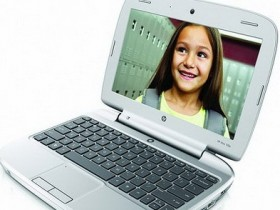 В реализацию поступил ноутбук базового значения HP Мини 100e
