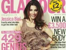 Джессика Колотил в сексуальной фотосессии для издания Glamour