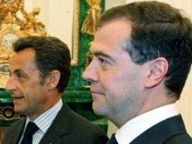 Медвев, Саркози