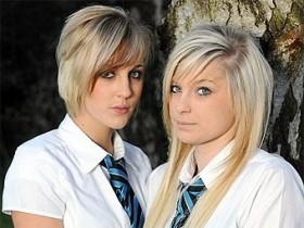 блондиночки