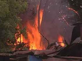 Киев,пожар
