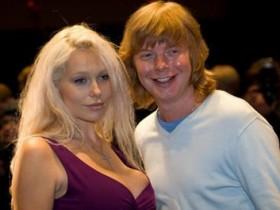 Андрей Григорьев-Апполонов с супругой Машей