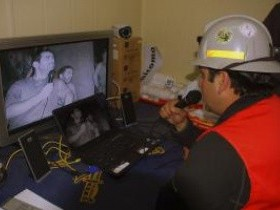 шахтеры Чили