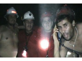 чили, шахтеры