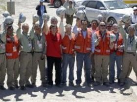 Чилийские шахтеры