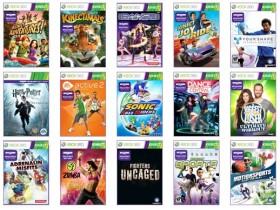 К продаже сенсора Kinect в Европе будет выпущено 19 игр