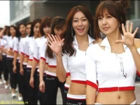 Стартовое поле Гран При Кореи