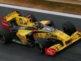 Кубица,Renault F1