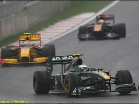 Ковалайнен,Lotus Racing