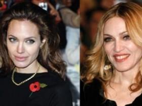 Мадонна и Джоли