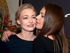 Агния Дитковските и Ксения Акиньшина