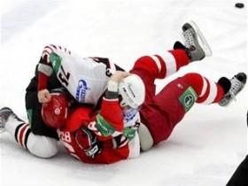 стычка хоккей