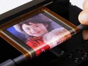 Сони,эластичный экран