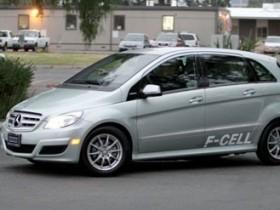 Мерседес-Бенц F-Cell,водородный авто