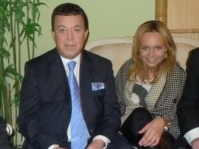 Марина Фокина и Иосиф Кобзон