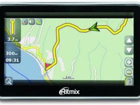 Ritmix RGP-470,GPS-навигаторы на Atlas 5