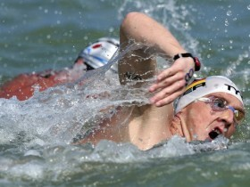 Томас Лурц плавание