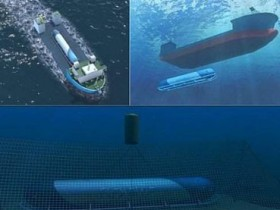 подводная электрическая станция Flexblue