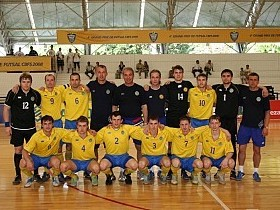 Сборная Украины по футзалу