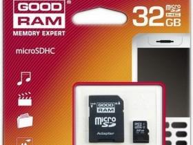 GOODRAM microSDHC 32GB Class 4,карты памяти