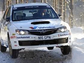 Андерс Грондаль,Авто-ралли Швеции