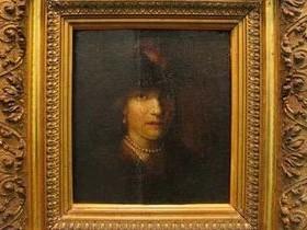 Портрет девушки,Рембрандт