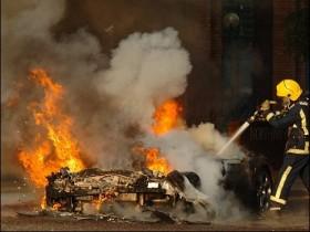 пожарные в Великобритании