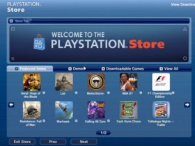 playstation, store
