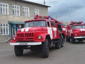 пожарная автомашина