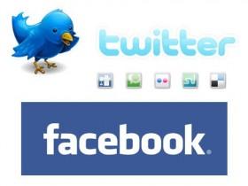 Твиттер и Фейсбук