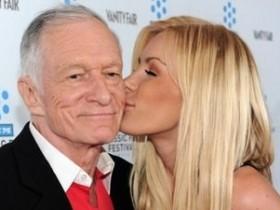 Красавица Кристал Харрис забросила 85-летнего плейбоя Хефнера