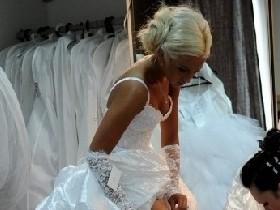 ФОТО: О. Бузова  надела свадебное платье