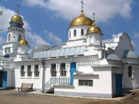 Мелитопольский мужской храм Священного Саввы