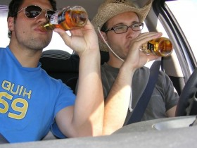 опьяневший автолюбитель
