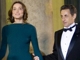 Карла Бруни-Саркози,Николя Саркози