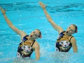 Светлана Ищенко,одновременное плавание