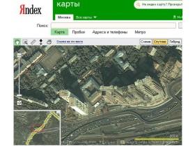 карты Yandex'а