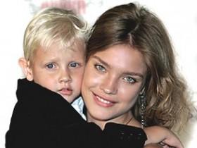 Светлана Водянова с сыном