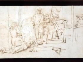 Похищенный чертеж Рембрандта