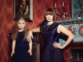 Юлия Милославская с дочерью